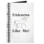 Unicorns Like Me Journal