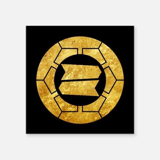 Hattori clan kamon in gold Sticker