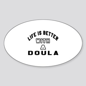 Doula Designs Sticker (Oval)