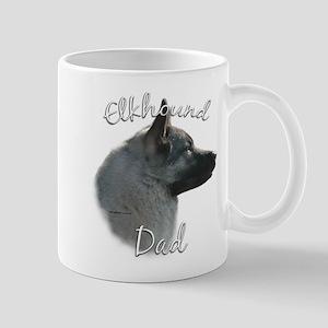 Elkhound Dad2 Mug