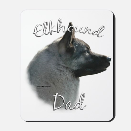 Elkhound Dad2 Mousepad