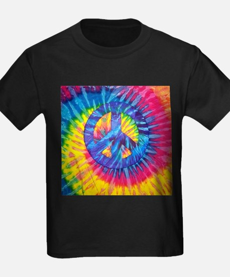 Peace Sign Hippie Hippy Psychedelic Tie-Dy T-Shirt
