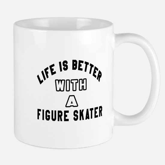Figure Skater Designs Mug