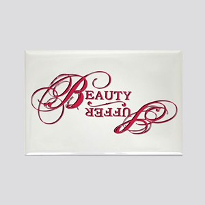 Suffer / Beauty Rectangle Magnet