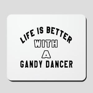 Gandy Dancer Designs Mousepad