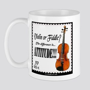 Violin Fiddle String Music Mug