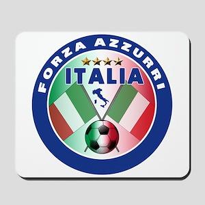 Italian Forza Azzurri Mousepad