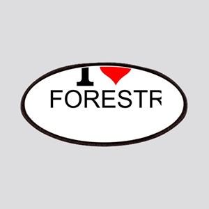 I Love Forestry Patch