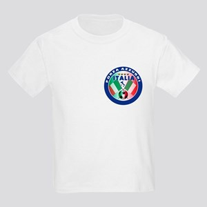 Italian Forza Azzurri Kids Light T-Shirt