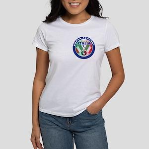 Italian Forza Azzurri Women's T-Shirt