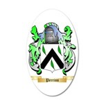 Perrins 35x21 Oval Wall Decal