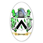 Perrings Sticker (Oval 50 pk)