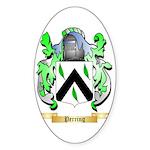 Perring Sticker (Oval 50 pk)