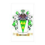 Perriman Sticker (Rectangle 50 pk)