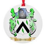 Perrils Round Ornament