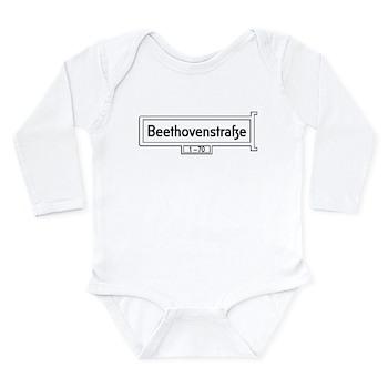 Beethovenstrasse, Bonn Long Sleeve Infant Bodysuit