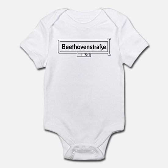 Beethovenstrasse, Bonn, Germany Infant Bodysuit