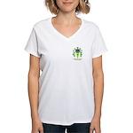 Perrier Women's V-Neck T-Shirt