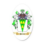 Perrier Oval Car Magnet