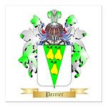 Perrier Square Car Magnet 3