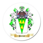Perrier Round Car Magnet