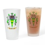 Perrier Drinking Glass