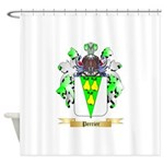 Perrier Shower Curtain