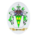 Perrier Oval Ornament