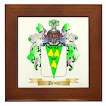 Perrie Framed Tile