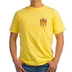 Perrelli Yellow T-Shirt