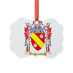 Perrelli Picture Ornament