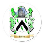 Perrel Round Car Magnet