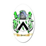 Perrel 20x12 Oval Wall Decal