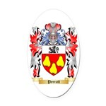 Perratt Oval Car Magnet