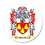 Perratt Round Car Magnet