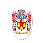 Perratt 35x21 Oval Wall Decal