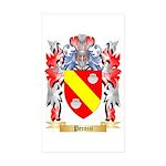 Perozzi Sticker (Rectangle 50 pk)