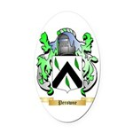 Perowne Oval Car Magnet