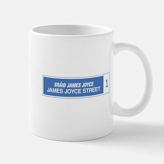 James Joyce Street, Dublin, Ireland Mug