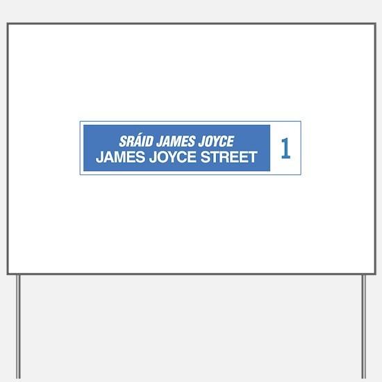 James Joyce Street, Dublin, Ireland Yard Sign