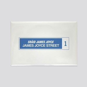James Joyce Street, Dublin, Irela Rectangle Magnet