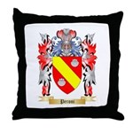 Peroni Throw Pillow