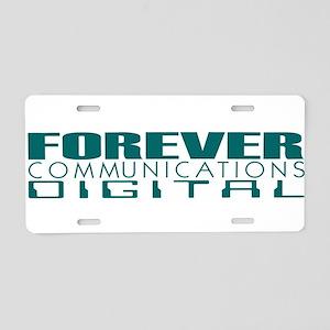 Forever Communications Digital Aluminum License Pl