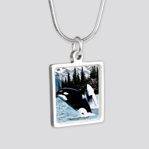 Leaping Killer Whales Necklaces