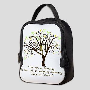 The Art Of Teaching Neoprene Lunch Bag