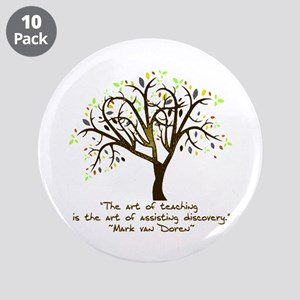 "The Art Of Teaching 3.5"" Button (10 pack)"