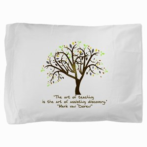 The Art Of Teaching Pillow Sham
