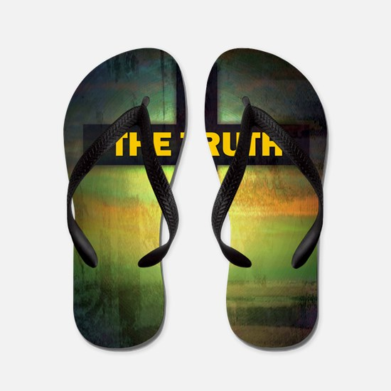 I am the way, the truth and the life Flip Flops