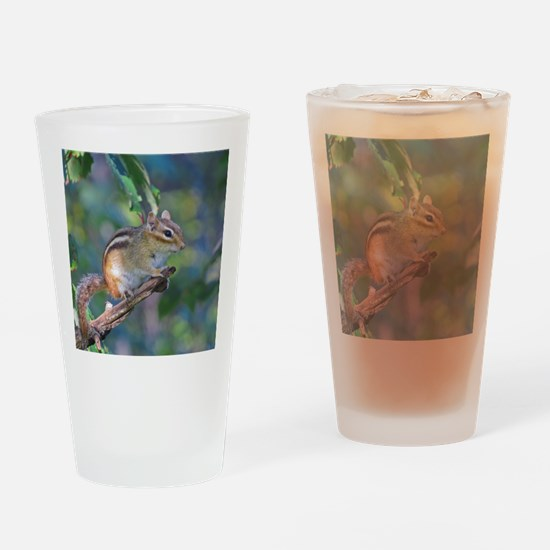 Unique Chipmunks Drinking Glass