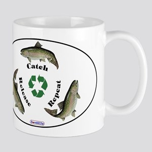 Catch/release/repeat (with Trout) / Mugs